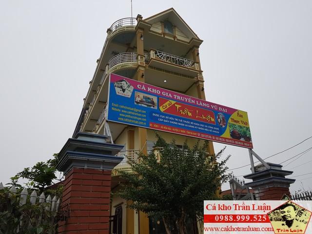 Cơ sở cá kho Trần Luận